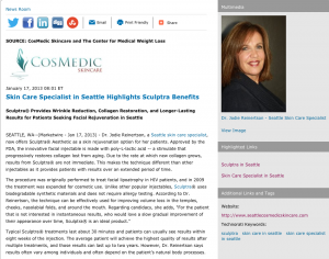 skin care specialist in seattle, skin care in seattle, sculptra